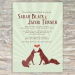 Rustic Fox Invitation - Pri..
